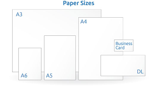 Sunshine Coast Graphic Designers Flyer Paper Sizes