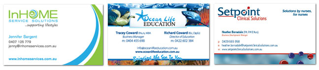 Sunshine Coast Business Cards Designers