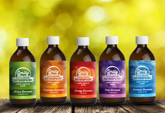 bottle labels design - Khafre