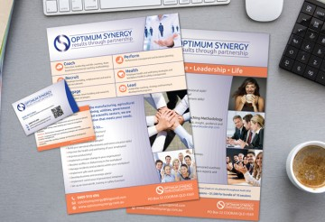 Noosa HR Company Flyer Design
