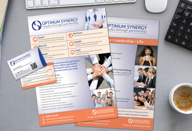 Flyers for Noosa HR Services Company - Ausgraphics