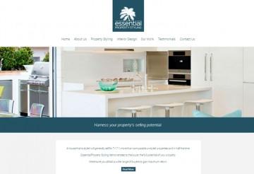caloundra property stylist website design